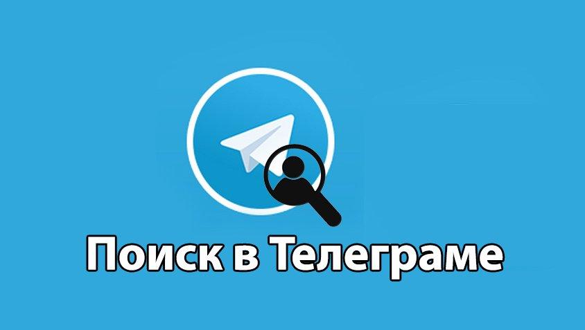 поиск телеграм - поиск бота, группы, каналов, чата